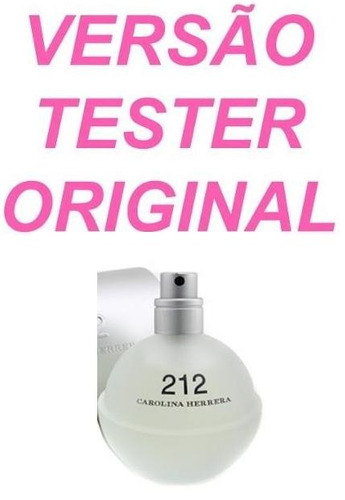 perfume 212 nyc (50ml) carolina herrera fem original tester