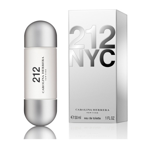 perfume  212 nyc carolina herrera eau de toilette 30 ml