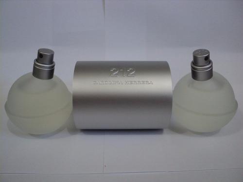 perfume 212 nyc carolina herrera mujer original