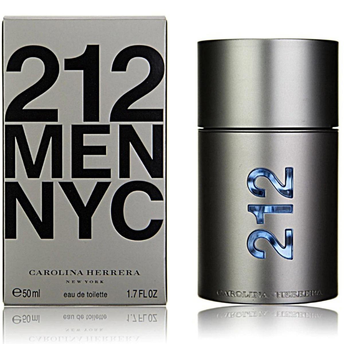 35194c5165 perfume 212 nyc men carolina herrera eau de toilette 50 ml. Cargando zoom.