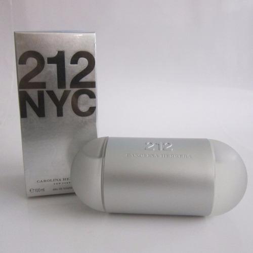 perfume 212 nyc tradicional carolina herrera dama 100 ml