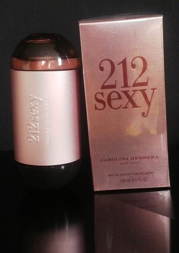 perfume 212 sexy 100% original garanti - ml a $1399