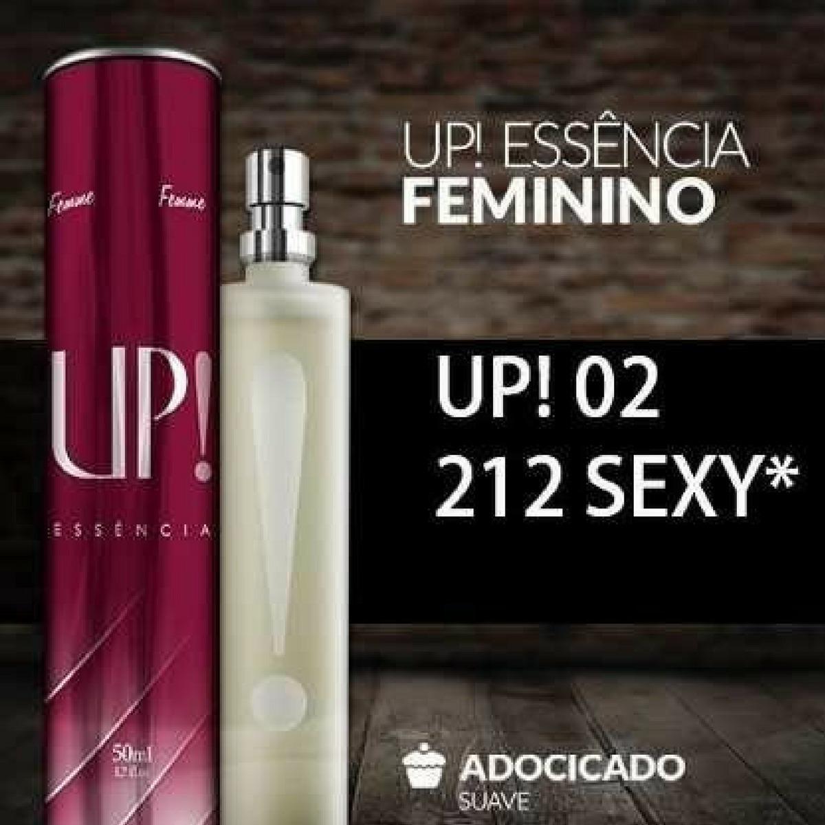 Perfume 212 Sexy 50ml Up Original Feminino Mais Barato - R  119 260dd90b271