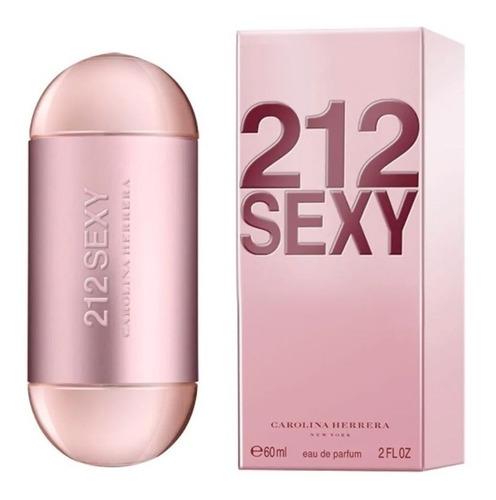 perfume 212 sexy feminino eau de parfum. 60ml - original