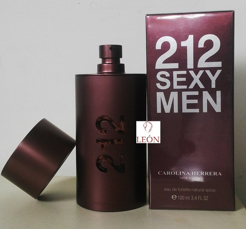 perfume 212 sexy men 100% original env - ml a $1299