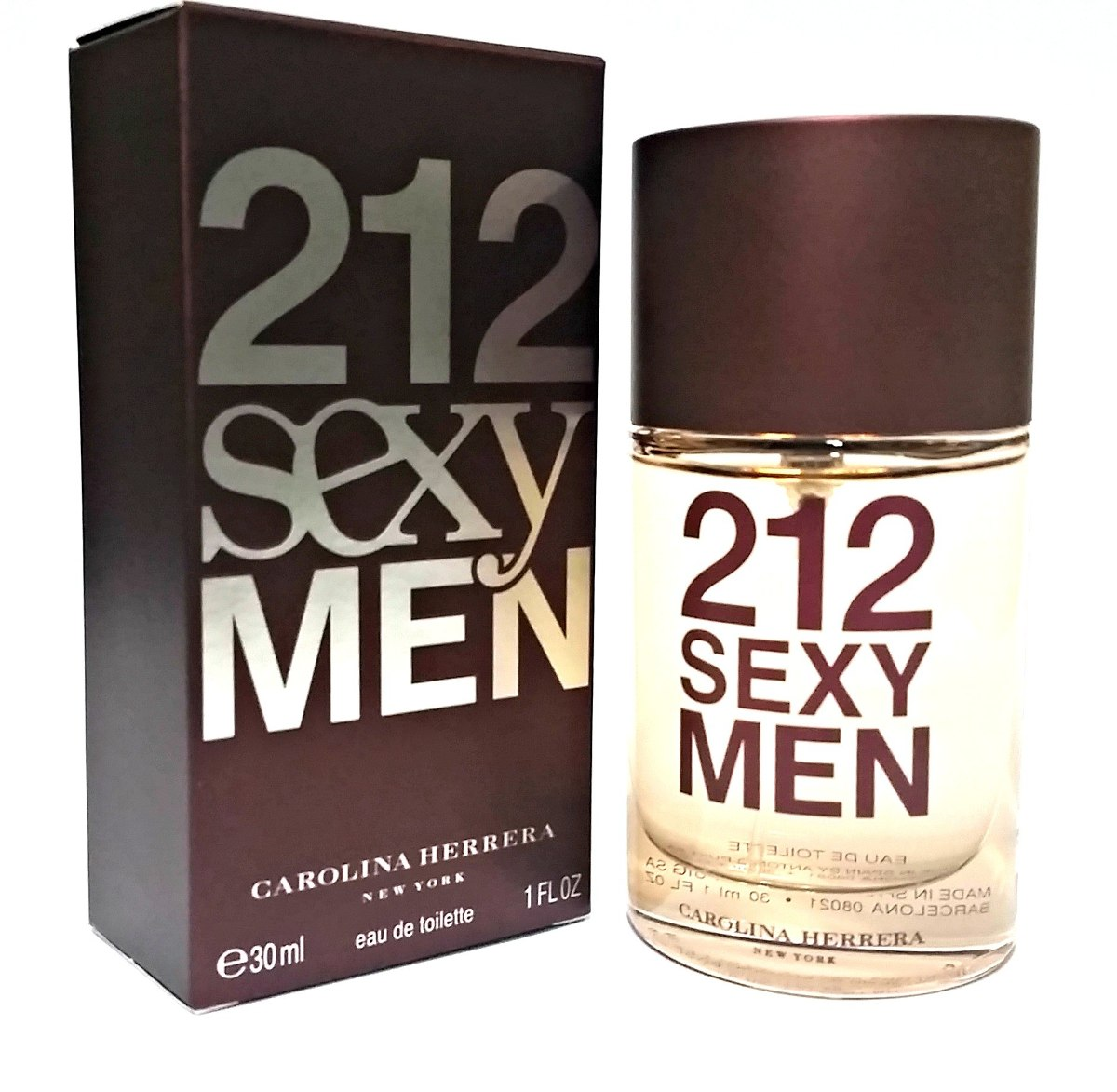 b2975c497 perfume 212 sexy men masculino carolina herrera edt 30ml. Carregando zoom.