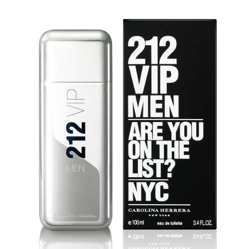 perfume 212 vip 100 ml by carolina herrera