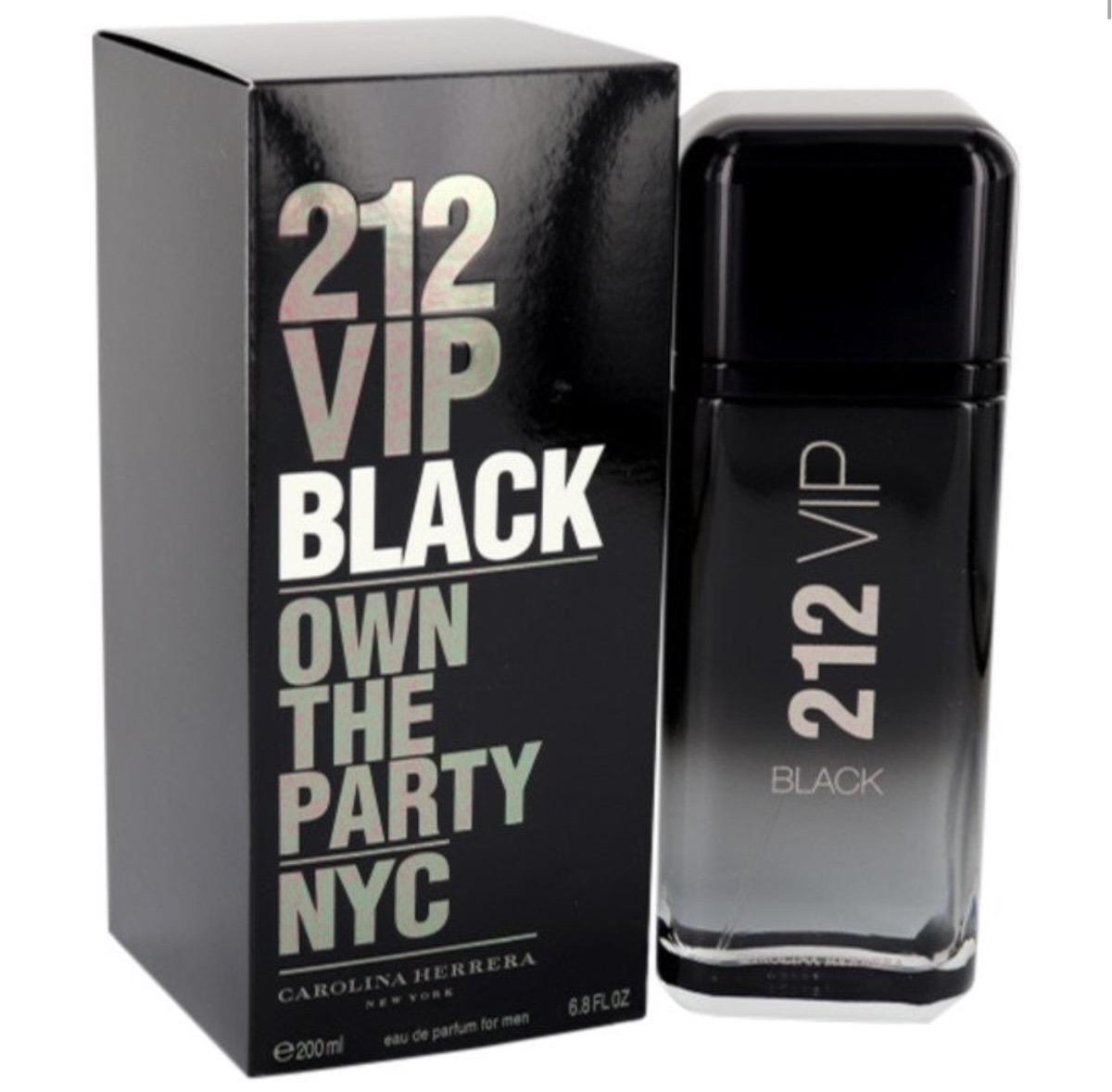 614f5b35fa perfume 212 vip black 200ml eau de parfum nuevo y sellado. Cargando zoom.