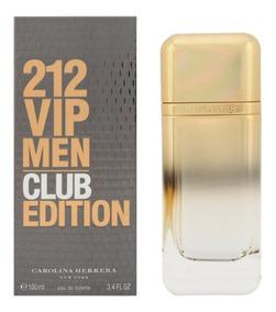 212 Club Carolina X100ml Herrera Perfume Vip De Edition rChQdts