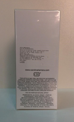 perfume 212 vip fem 80 ml edp carolina herrera 100% original