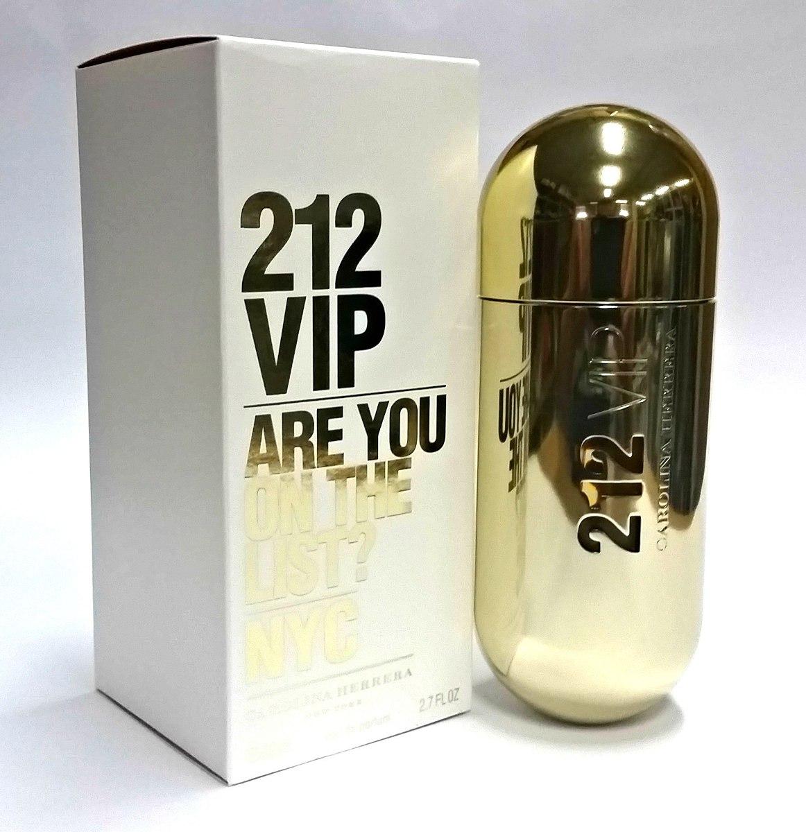 1a32cb588a Perfume 212 Vip Feminino -edp 80 Ml 100% Original - R$ 330,00 em ...