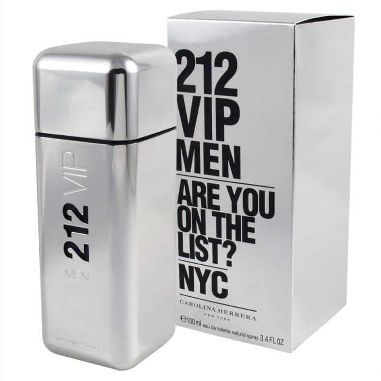 Perfume 212 Vip Men 100ml Carolina Herrera Original 376000 En