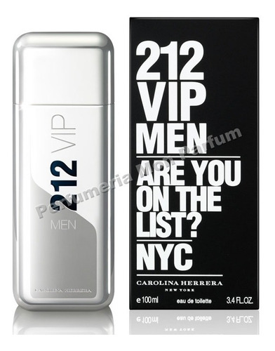 perfume 212 vip men by carolina herrera. entrega inmediata