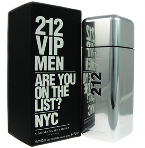 Perfume 212 Vip Men Carolina Herrera 100ml Envio Imediato - R  317 ... 4ad3ae0b17