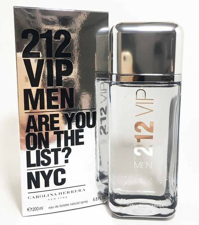 Perfume 212 Vip Men Carolina Herrera 200ml Original Lacrado - R ... 1367824856