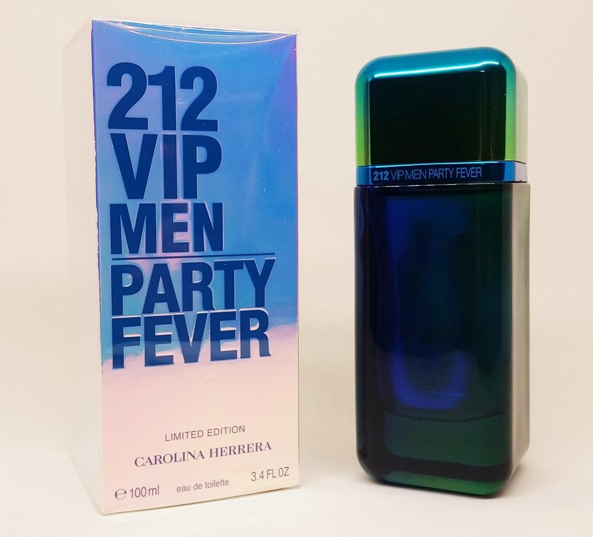 Perfume 212 Vip Men Party Fever 100ml Lançamento 2019 - R  339,00 em ... fd278efcf1