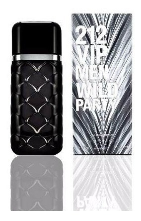 perfume 212 vip men wild party by carolina herrera 100 ml