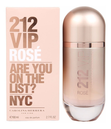 perfume 212 vip rose 90 ml.de carolina herrera women