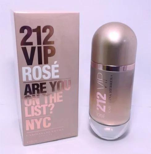 495643637250e Perfume 212 Vip Rosé Carolina Herrera Edp 30ml Lacrado - R  169,90 em  Mercado Livre