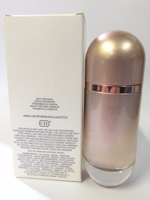 9f963775423 Perfume 212 Vip Rosé Edp Tester 80ml -100% Original Promoçao - R ...