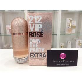 Perfume 212 Vip Rosé Extra Edp 80ml Carolina Herrera