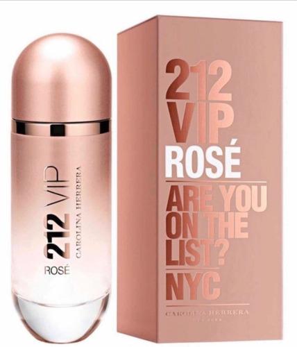 perfume 212 vip rosé feminino carolina herrera edp 50ml