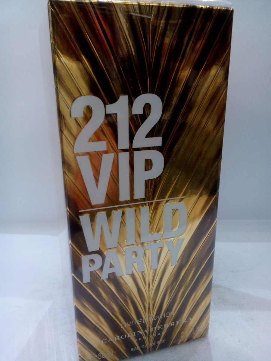 beb34ffe1 perfume 212 vip wild party 80 ml carolina herrera feminino. Carregando zoom.