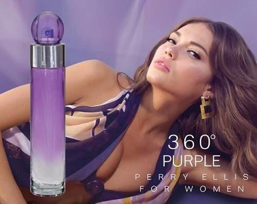 perfume 360 purple de perry ellis 100 - ml a $1199