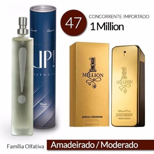 perfume 50ml - up! trento- 1 millian - masculino