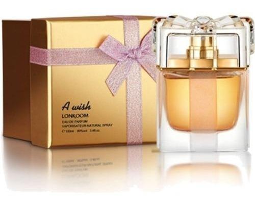 perfume a wish lonkoom feminino eau de parfum 100ml