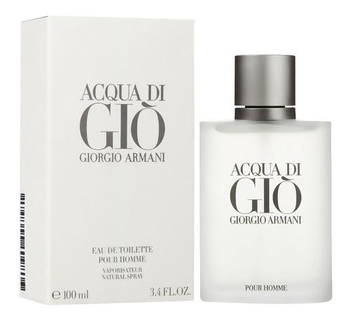 perfume acqua di gio armani 100 ml men - l a $1399