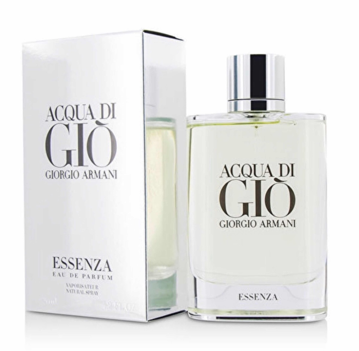 00f301bde1cd7 Características. Marca Giorgio Armani  Nombre del perfume Acqua di Gio  Essenza  Versión Essenza  Género Hombre  Tipo Eau de parfum ...