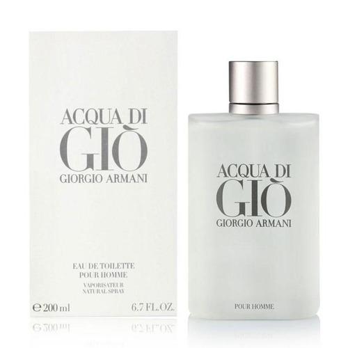 perfume acqua di gio giorgio armani edt 200ml