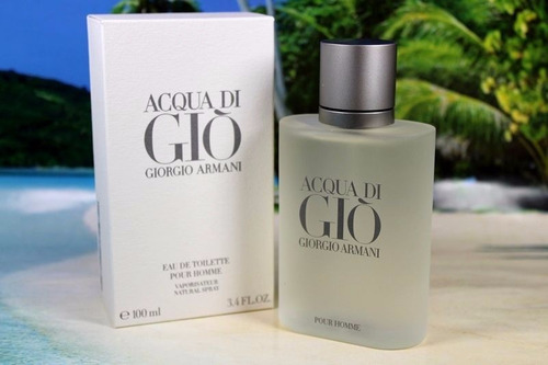 perfume acqua di gio pour homme + after shave