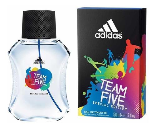 perfume adidas team five 100ml / promoção