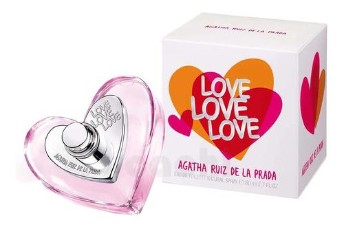 perfume agatha ruiz de la prada love love love 80ml
