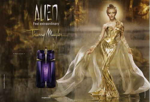 perfume alien thierry mugler edp x 30ml set x 3 pzas sellado
