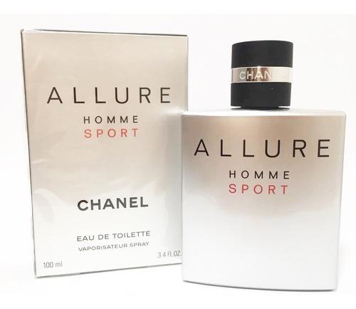perfume allure homme sport 100 ml - original e lacrado