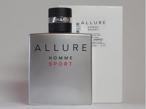 perfume allure homme sport de chanel 100ml tester / probador