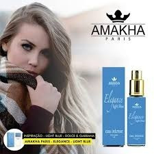 cdbd86b95 Perfume Amakha Paris, Feminino, 15ml - Elegance Light Blue - R$ 30 ...