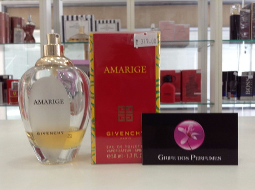 perfume amarige edt 50ml givenchy