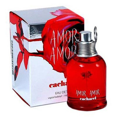 perfume amor amor, cacharel, 100ml, mujer, 100% originales