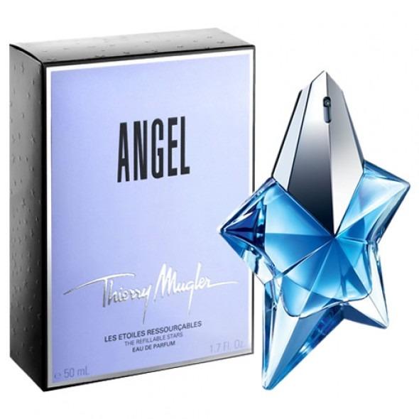 Perfume Angel 50ml Thierry Mugler - 100% Original   Lacrado - R  299 ... 4361b6c494