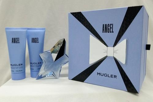 perfume angel estrella de mugler cofre mujer 50 ml