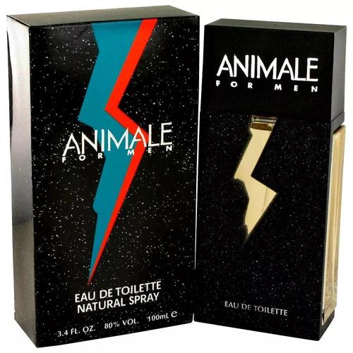 perfume animale for men eau de toilette 100ml frete grátis