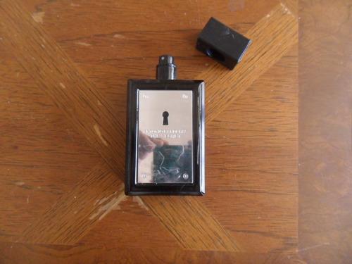 perfume antonio bandeiras 100ml vazio p/colecionador perfeit
