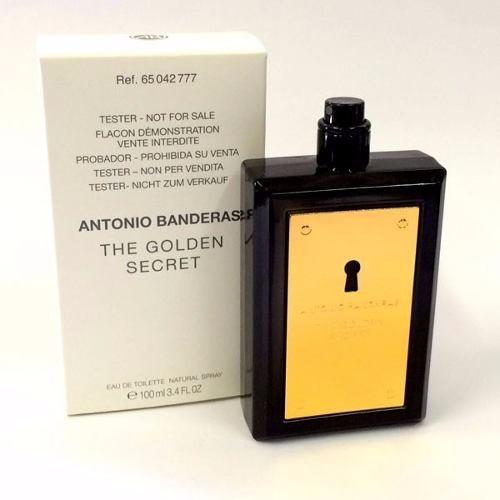 ca8c0b0e0 Perfume The Golden Secret 100ml Tester - Antonio Banderas - R  69
