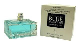 perfume antonio banderas blue seduction 100ml edt fem tester