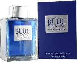 perfume antonio banderas blue seduction 200ml para hombre