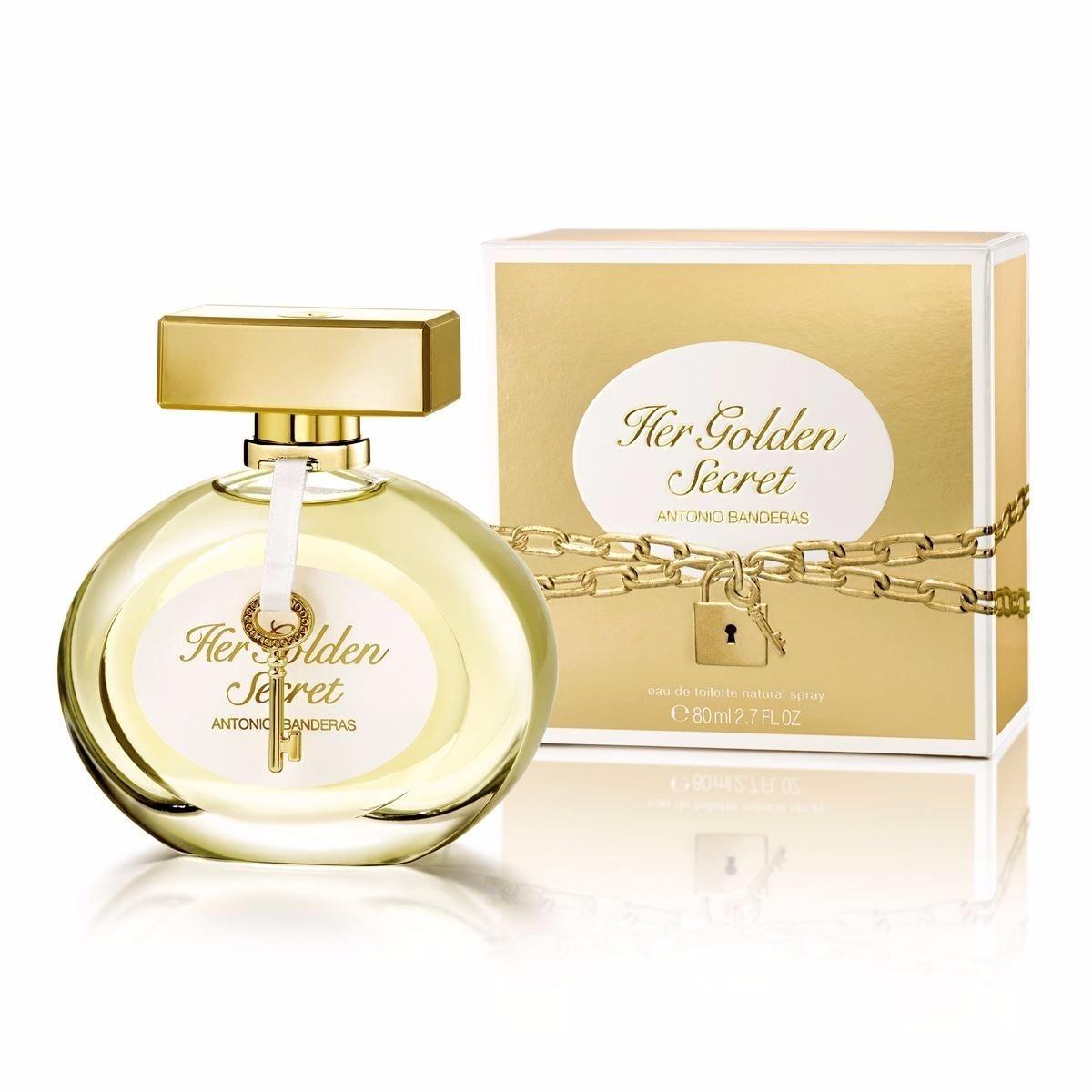 09434d774d Perfume Antonio Banderas Her Golden Secret Feminino - 80 Ml - R  129 ...
